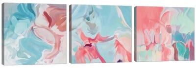 Environmental Vibrations Triptych Canvas Art Print