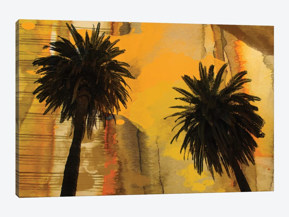 Palm Duo by Irena Orlov 1-piece Canvas Print