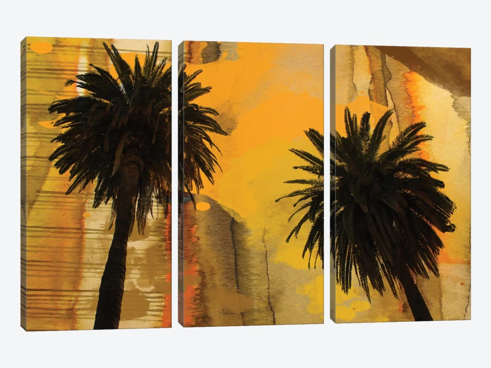 Palm Duo by Irena Orlov 3-piece Canvas Print