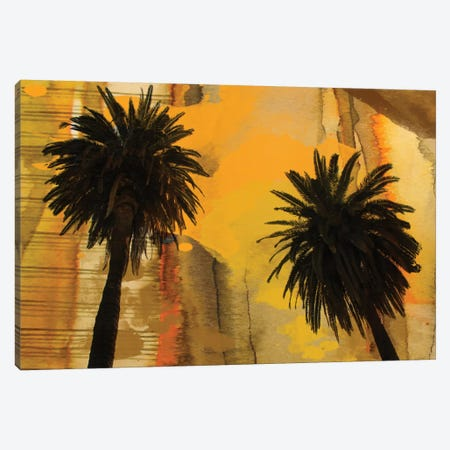 Palm Duo Canvas Print #ORL41} by Irena Orlov Canvas Artwork