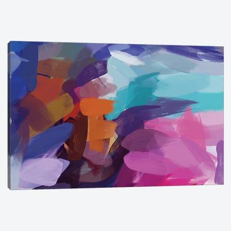 The Color Movement XIV Canvas Print #ORL424} by Irena Orlov Art Print