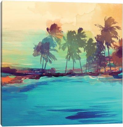 Palm Island I Canvas Art Print