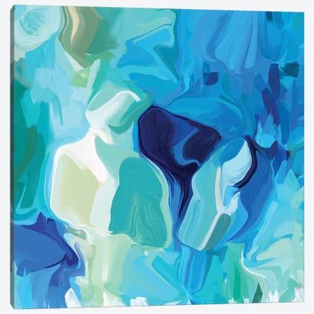Water Flow III Canvas Print #ORL435} by Irena Orlov Canvas Artwork