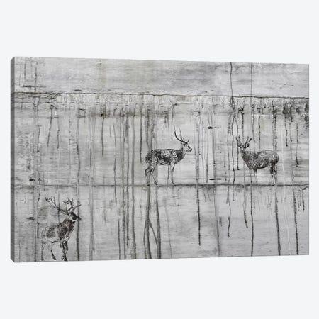 Wild Dears Canvas Print #ORL447} by Irena Orlov Art Print
