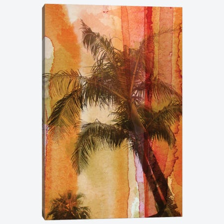 Palm Tree Canvas Print #ORL44} by Irena Orlov Canvas Art Print