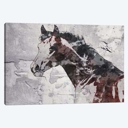 Winner Horse IV Canvas Print #ORL460} by Irena Orlov Canvas Artwork