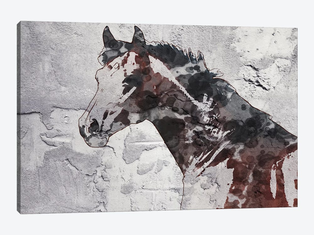 Winner Horse IV by Irena Orlov 1-piece Canvas Wall Art
