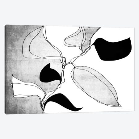Abstract Bloom I-II Canvas Print #ORL462} by Irena Orlov Canvas Art