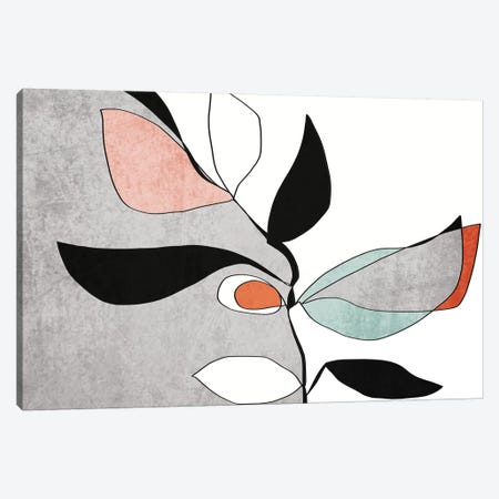 Abstract Bloom II-I 3-Piece Canvas #ORL464} by Irena Orlov Canvas Art Print