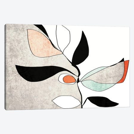 Abstract Bloom II-III 3-Piece Canvas #ORL466} by Irena Orlov Canvas Art Print