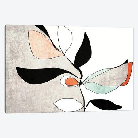 Abstract Bloom II-III Canvas Print #ORL466} by Irena Orlov Canvas Art Print