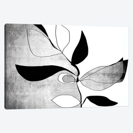 Abstract Bloom II-IV Canvas Print #ORL467} by Irena Orlov Art Print