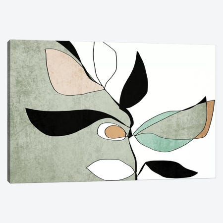 Abstract Bloom II-V Canvas Print #ORL468} by Irena Orlov Canvas Wall Art