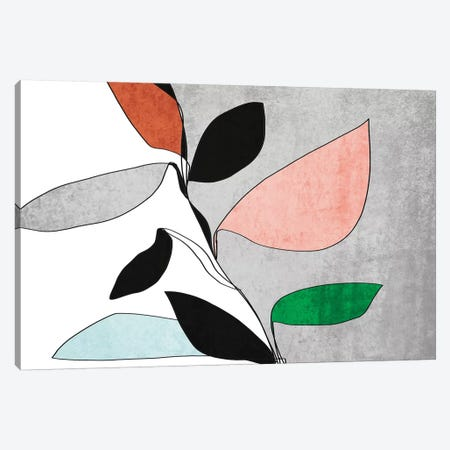 Abstract Bloom III 3-Piece Canvas #ORL469} by Irena Orlov Canvas Art