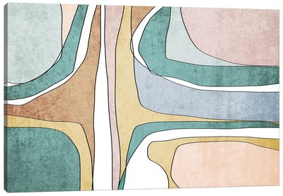 Abstract Lines II Canvas Art Print