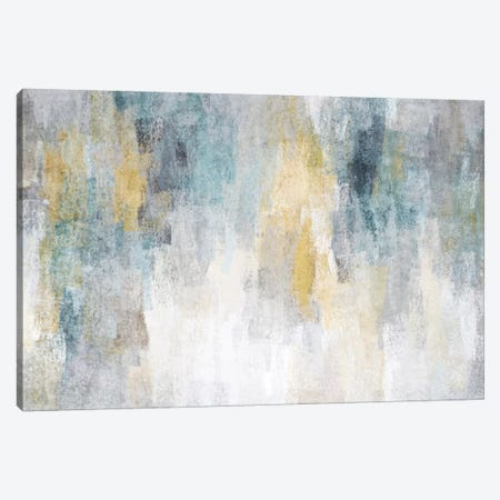 Blue And Yellow Expression I Canvas Print #ORL473} by Irena Orlov Art Print