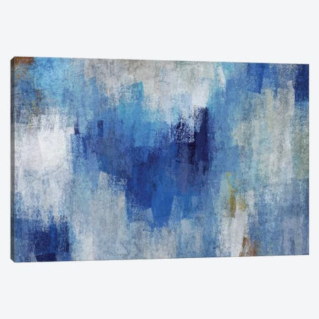 Blue Expression IV Canvas Print #ORL475} by Irena Orlov Canvas Art