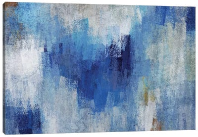 Blue Expression IV Canvas Art Print