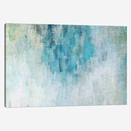 Blue Expression V Canvas Print #ORL476} by Irena Orlov Canvas Art