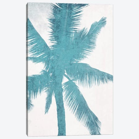 Blue Palm Trees I Canvas Print #ORL477} by Irena Orlov Canvas Art