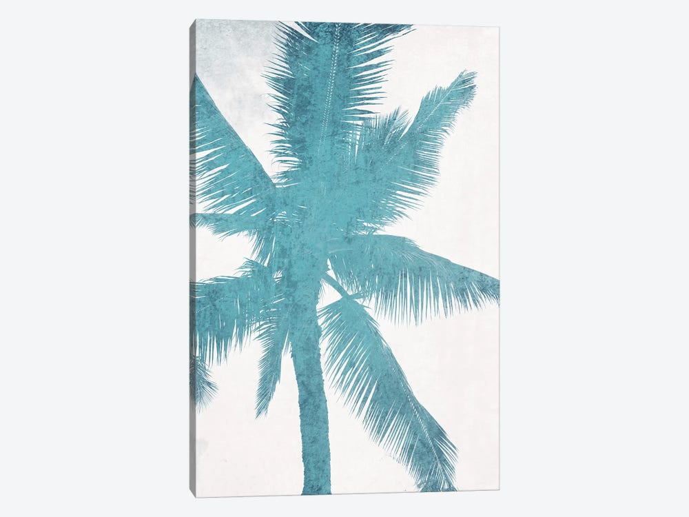 Blue Palm Trees I by Irena Orlov 1-piece Canvas Artwork