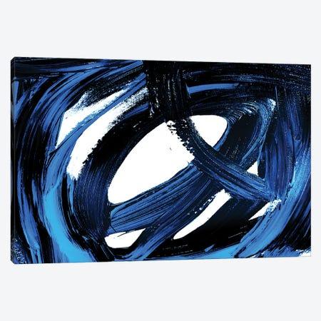Celebration Blue I Canvas Print #ORL484} by Irena Orlov Canvas Art Print