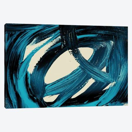 Celebration Blue II Canvas Print #ORL485} by Irena Orlov Canvas Art Print