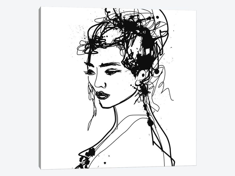 Female Portrait by Irena Orlov 1-piece Canvas Wall Art
