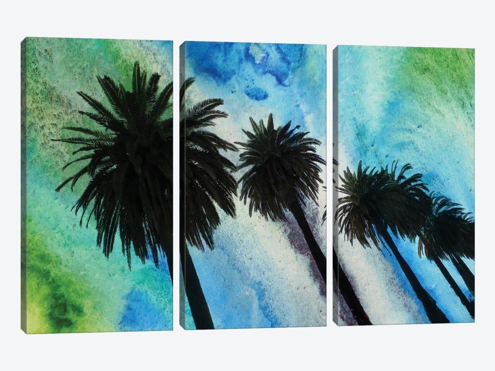 Santa Monica Palms by Irena Orlov 3-piece Canvas Print