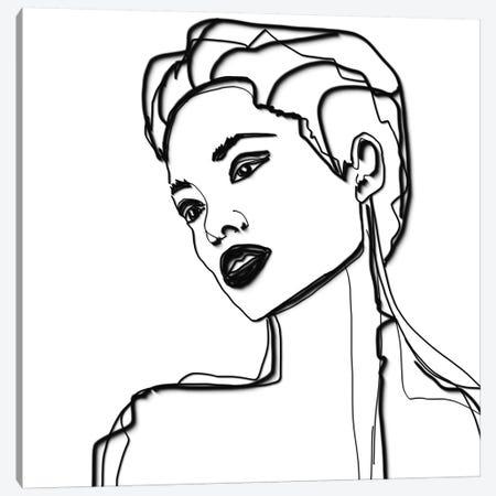 Green Beauty III Canvas Print #ORL507} by Irena Orlov Canvas Art