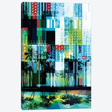 Mid Century Modern Palms III Canvas Print #ORL517} by Irena Orlov Canvas Art Print