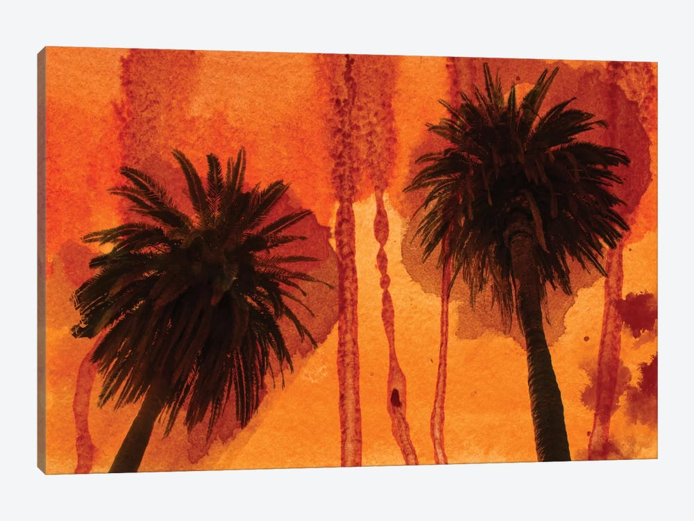 Sunset Palms by Irena Orlov 1-piece Canvas Wall Art