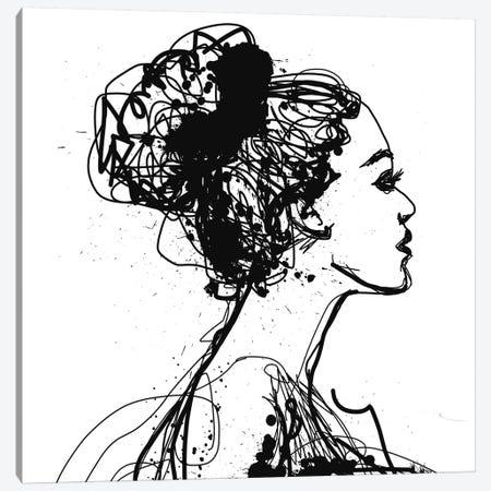 Portrait Of Beautiful Sensual Woman Canvas Print #ORL525} by Irena Orlov Canvas Wall Art