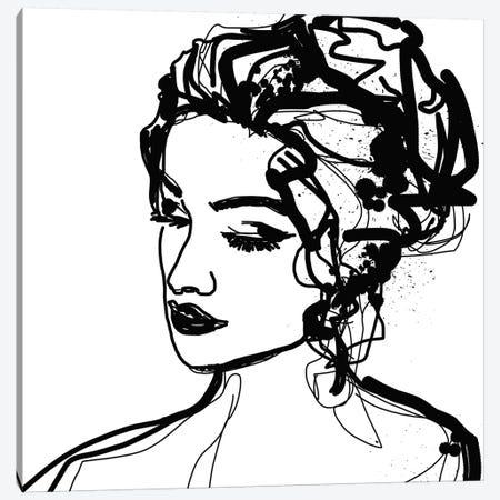 Sensual Woman VIII Canvas Print #ORL529} by Irena Orlov Canvas Print