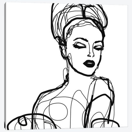 Summer Woman II Canvas Print #ORL537} by Irena Orlov Canvas Print