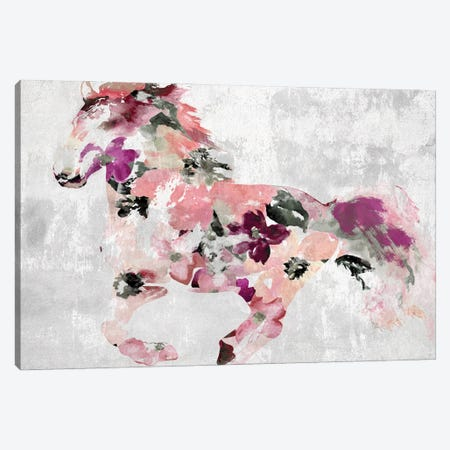 Colorful Abstract Horse I-II Canvas Print #ORL547} by Irena Orlov Canvas Art