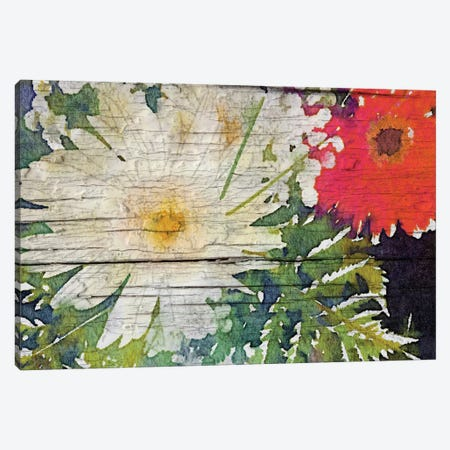 The Bouquet Canvas Print #ORL54} by Irena Orlov Canvas Artwork