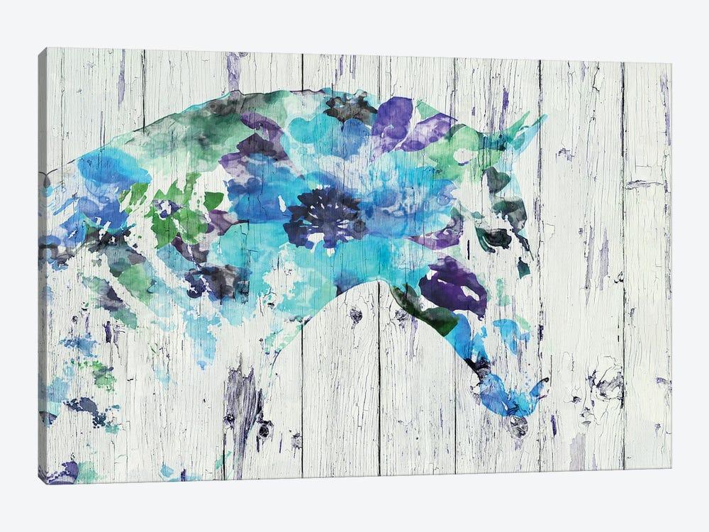 Floral Boho Horse II-IV by Irena Orlov 1-piece Canvas Art