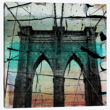 The Brooklyn Bridge, New York City, New York Canvas Print #ORL56} by Irena Orlov Canvas Art