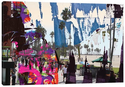 One Summer Day At Venice Beach III Canvas Art Print