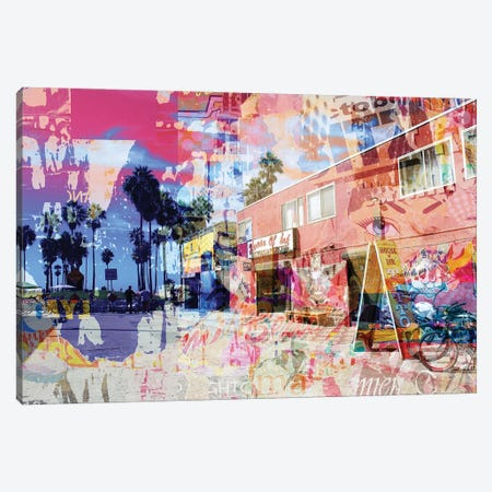One Summer Day At Venice Beach IV Canvas Print #ORL571} by Irena Orlov Canvas Art