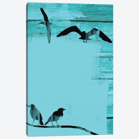 Birds In Sky II Canvas Print #ORL5} by Irena Orlov Canvas Art