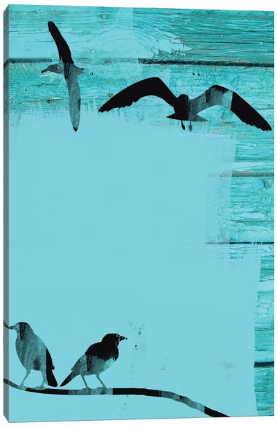 Birds In Sky II Canvas Print #ORL5