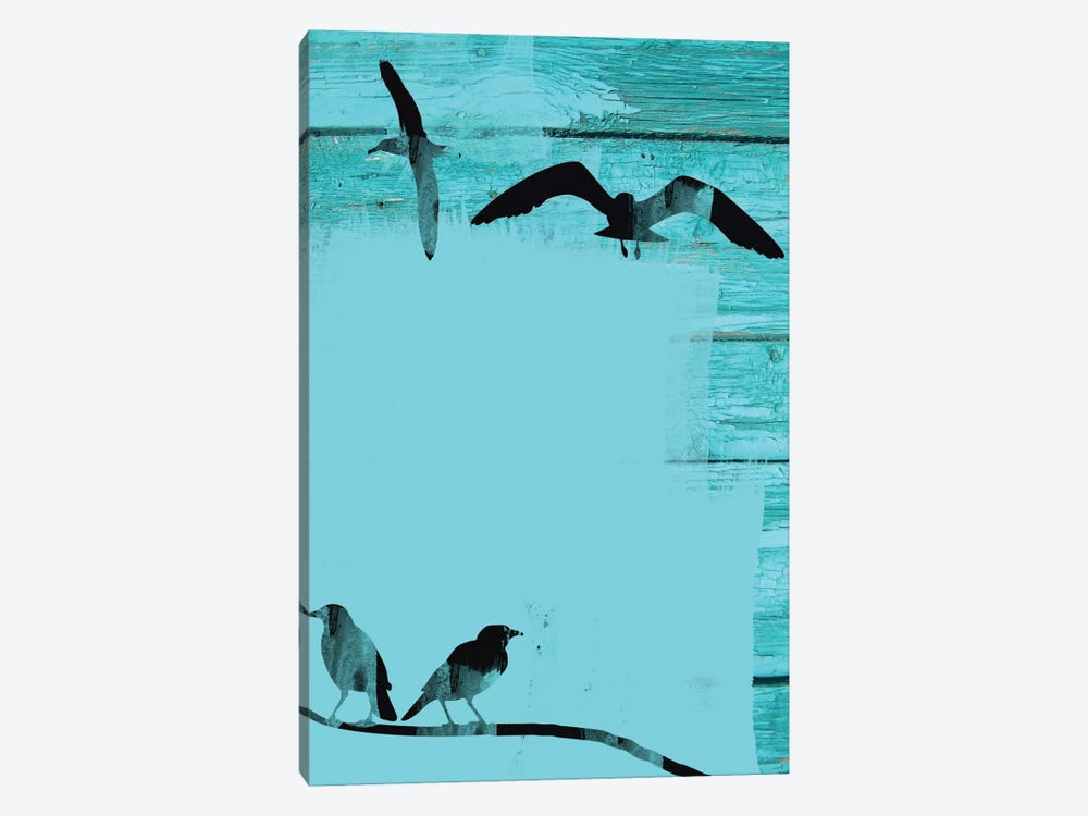 Birds In Sky II by Irena Orlov 1-piece Canvas Art Print
