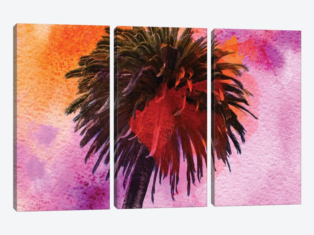 Tropical Beach 3-piece Canvas Wall Art