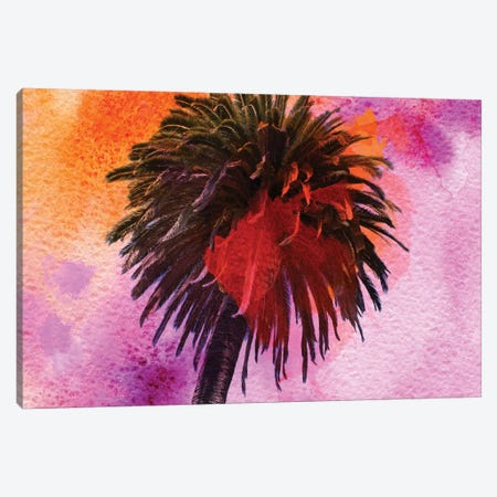 Tropical Beach Canvas Print #ORL60} by Irena Orlov Canvas Art