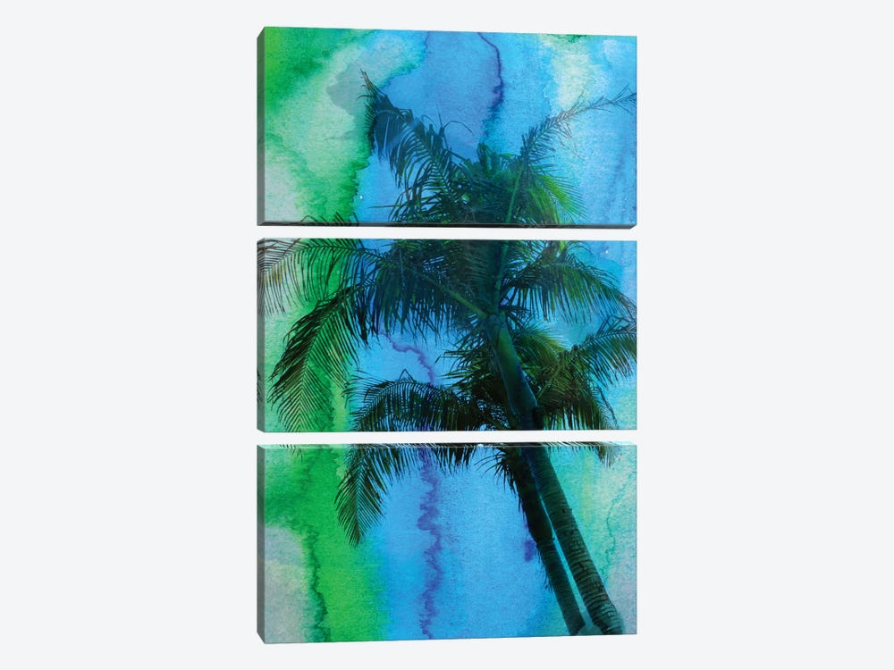 Tropical Beauty by Irena Orlov 3-piece Canvas Art Print