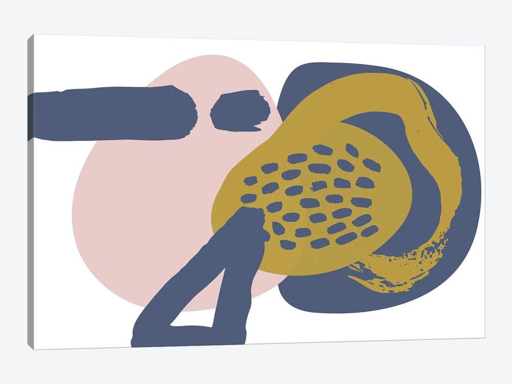 Minimalist Pink Yellow Palette I by Irena Orlov 1-piece Canvas Art Print
