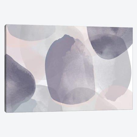 Minimalist Pink Purple Palette I Canvas Print #ORL625} by Irena Orlov Canvas Art Print