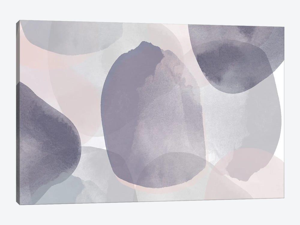 Minimalist Pink Purple Palette I by Irena Orlov 1-piece Canvas Art
